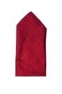 Appealing Bright Maroon Pocket Square