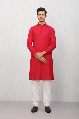 Timeless Maroon Kurta Set