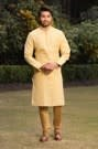 Youthful Biscuit Kurta Churidar Set