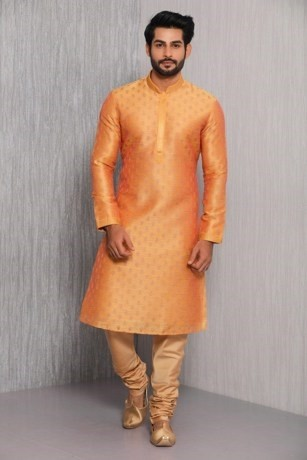 Vivacious Orange Kurta Set