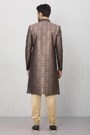 Magnificent Blue Embroidered Sherwani
