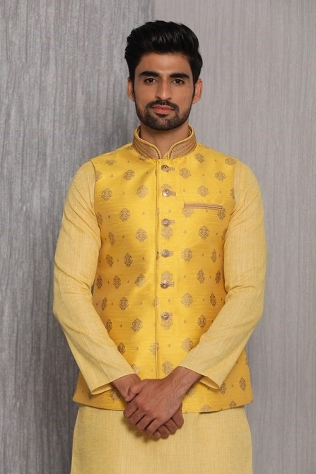 Bright and Trendy Yellow Jacket