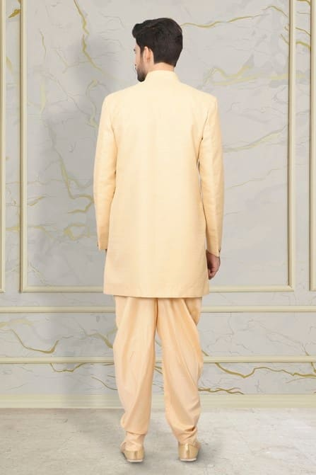 Princely Fawn Indo Western Set