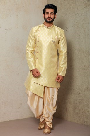 Grace the Occasion in Green Indo-western