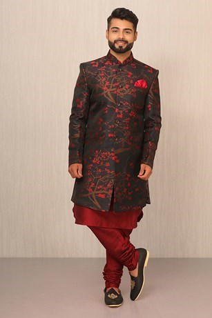 A Regal Affair With An Indo-Western Piece