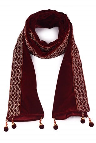 Royal Maroon Bandanna for Wedding