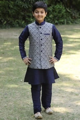 Nawabi Kurta-Jacket Set