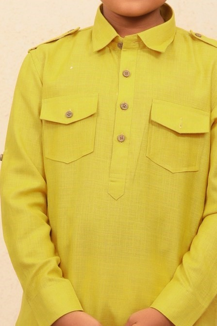 A Trendy Pathani Set  Perfect for Kids