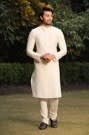 Smart Off White Kurta Set