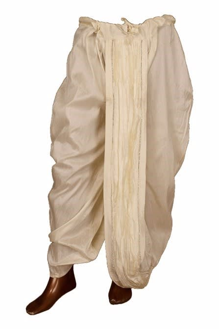 Off White Dhoti for special occasions