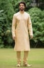 Stylish Fawn Kurta