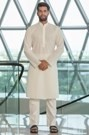Decent Cream Kurta