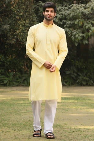 Elegant Yellow Kurta