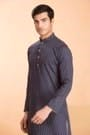 Printed Blue Kurta perfect for any Festival