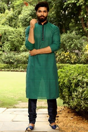 Trendsetter Green Kurta Set