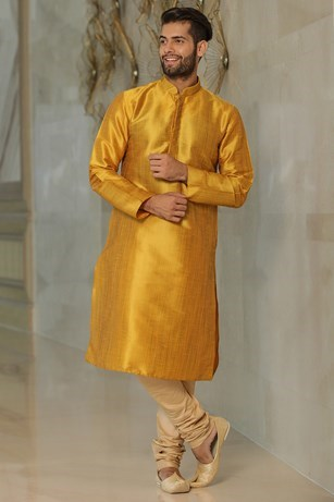 Bright Solid Kurta Set