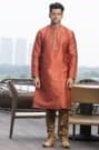 Red Luxurious Kurta