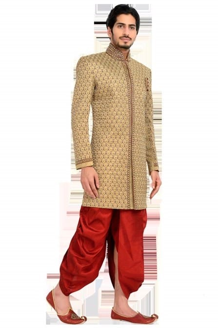 Shahi Heavy Embroidered Indo-Western Outfit
