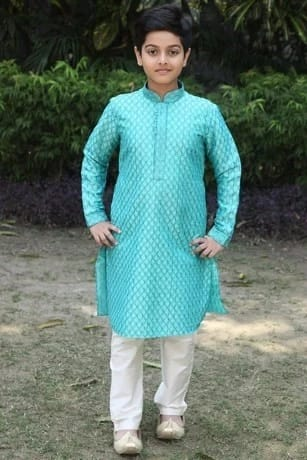 Glamorous Green Party Wear Kurta