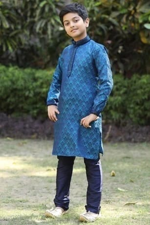 Fashionable Blue Kurta