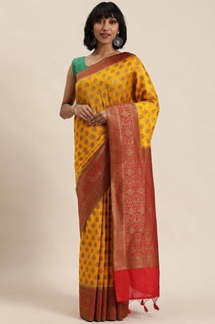 TRADITIONAL WEAVED SAREE
