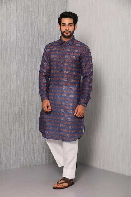 Absolutely Aesthetic Printed Pathani