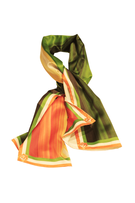 Tricolour Shaded Scarf