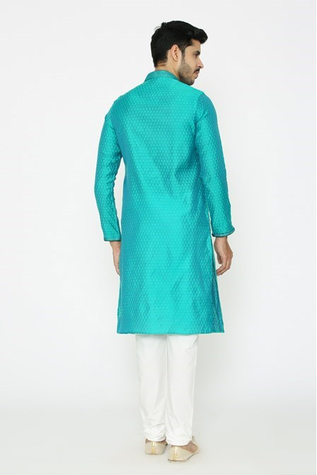 Forest Green Colored Kurta