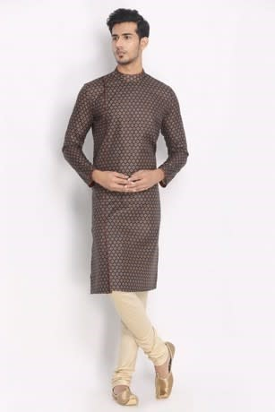 Printed Side Opening Kurta Perfect to Smarten Up Your Wardrobe Style