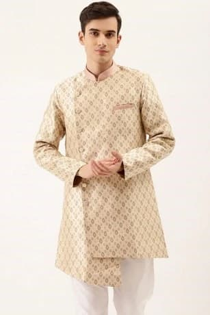 Bold Biscuit Color Kurta Set