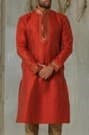 Bright Red Kurta perfect for any Festival