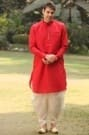 Trendy Red Kurta