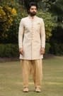 Cream Indo-Western Set with Pant