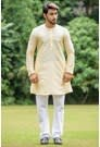 Biscuit coloured Kurta for sherwani